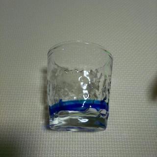 琉球ガラス青ライン