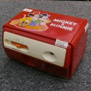 札幌市 レトロ ミッキー&ミニー 電動鉛筆削り機 ミッキーマウス...