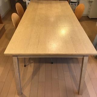 週末ラストチャス22日まで‼︎イケア伸長式ダイニングテーブル