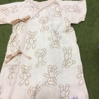 クマさん柄のベビー服
