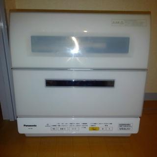【美品】パナソニック 食洗機 NP-TR8 エコナビ食器洗い乾燥...