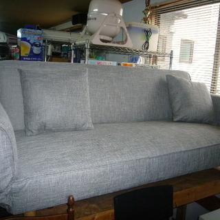 多機能リクライニングソファーベッド・グレー 灰色・新品・未使用