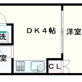 【ノアーズアーク桜川】1DKタイプ!使いやすい手ごろな広さのお部屋!