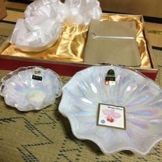 新品 KURATAガラス皿セット