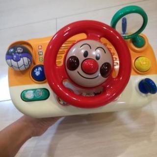 (商談成立)アンパンマン ハンドル おもちゃ 中古品