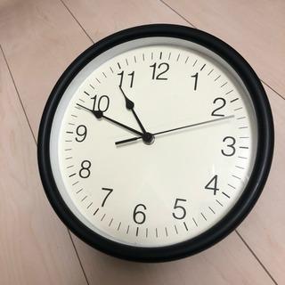 美品! 掛け時計 ブラック