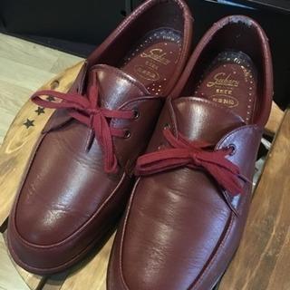 皮革製品靴(25cm)