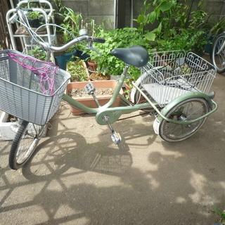 三輪車です