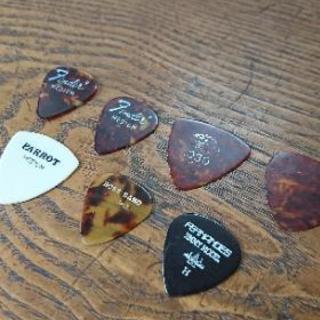 ギターピック7枚 差し上げます。