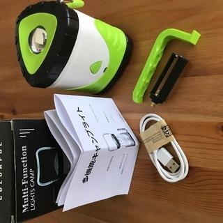 【新品&未使用】LEDランタン 多機能キャンプライト 懐中電灯