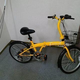 折りたたみ自転車 ほぼ新品 アマゾンで昨年購入5
