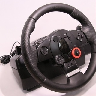 PS3 Logicool製DRIVING FORCE GT ステア...