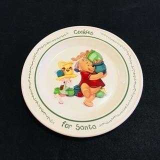 【葛飾区】新品 ☆ 希少な「クマのプーさん」のお皿 ☆ ディズニ...