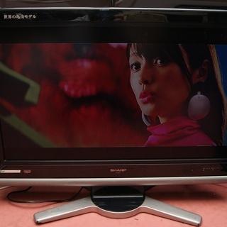 シャープ32型液晶テレビ2007年製動作品 ブラック
