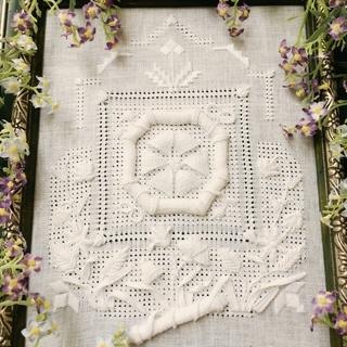 白糸刺繍・ヨーロッパ刺繍の「糸りあん刺繍教室」