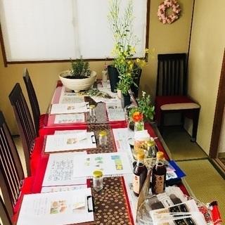 7/22 南浦和の自然食料理屋でハーブと食を学ぶ講座