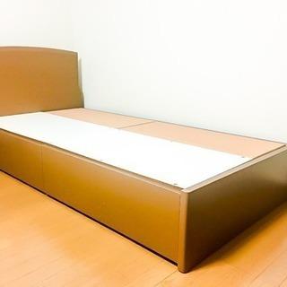 引き出し付き シングルベッドフレーム LC062899k
