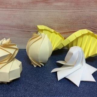 【500円】数学折り紙DNA折り紙教室【夏休みの自由研究にピッタリ】