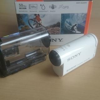 美品 ソニーアクションカメラ HDRーAS200V