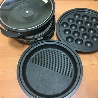 電気鍋 フライパン 鍋    焼き物セット!