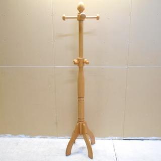 木製ポールハンガー 『美品中古』【リサイクルショップサルフ】