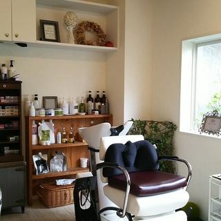 オーガニックヘアサロン プラチナ・高宮駅近くの美容室です。