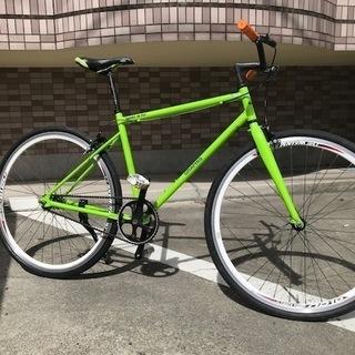 ☆彡カラフルグリーン☆彡 ピストバイク 700c