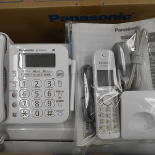 パナソニック 電話機 VE-GD23DL 子機付き ナンバーデ...