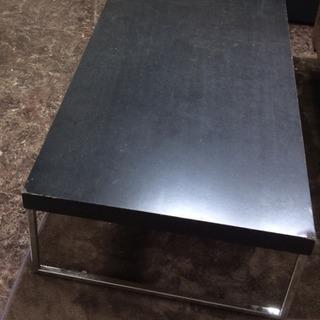 黒の ローテーブル