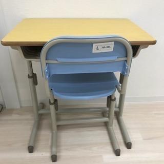 スクール机&いすセット(美品)