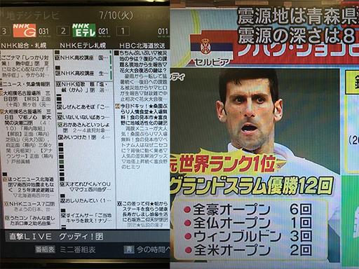 テレビ 欄 札幌