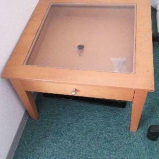 小型ローテーブル引出付無料