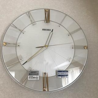 【新品※開封済み】SEIKO掛け時計