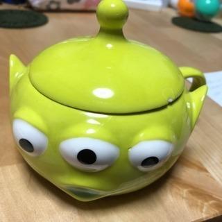 リトルグリーンメン 蓋つきマグカップ