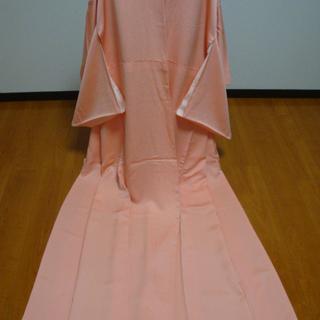 ●●着物●●ピンク●●家紋入り●●キレイな色●●シンプル ステキ●●