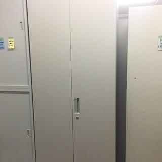 中古 コクヨ 両開き書庫 ロングタイプ 書類整理保管庫 6段 鍵付...
