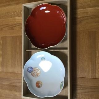 【未使用】睦皿 二枚組