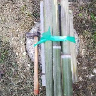 火力抜群❗️竹薪❗️キャンプにオススメ❗️