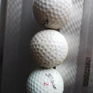 中古ゴルフボール