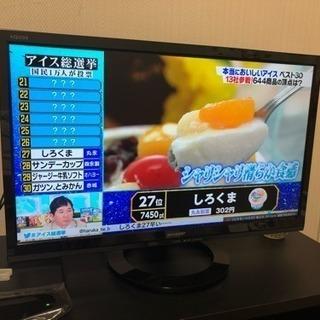 【7/14まで】SHARP 22型液晶テレビの画像