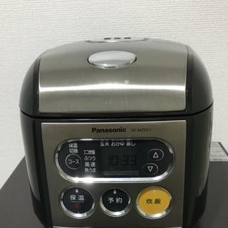 パナソニック☆電子ジャー炊飯器