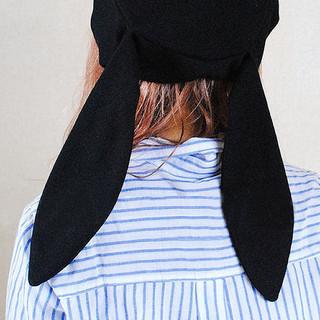 ウサギ耳 ベレー帽