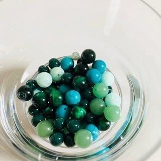 .+*:゚+。.☆天然石set GREEN.+*:゚+。.☆