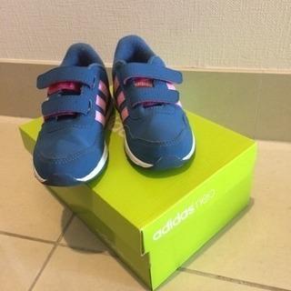 [値下げ]子供用スニーカー adidas15cm