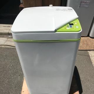 洗濯機 極小タイプ ハイアール 3.3kg洗い 2016年 JW-...