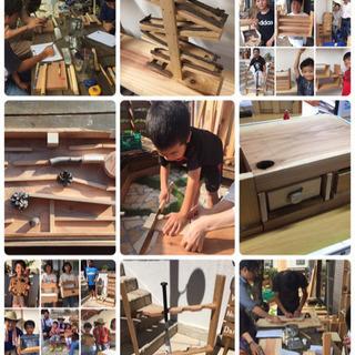 2018 夏休み 工作体験 木工教室