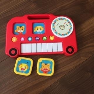 たいこ&キーボード おもちゃ