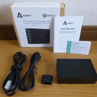 AUKEY USB充電器 ACアダプター