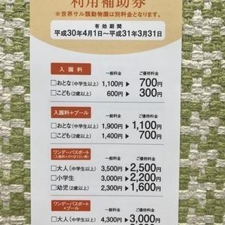 日本モンキーパーク 割引券