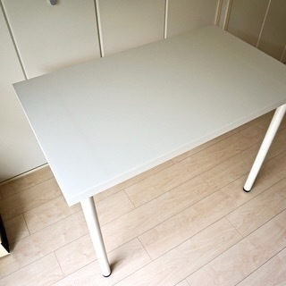 イケアで購入白いテーブル LIMMON 1つ500円 同じものがも...